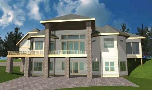 planos de casas lujosas modernas y grandes