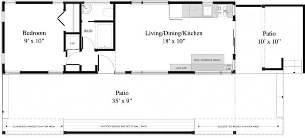 plano de acogedora casa de playa2
