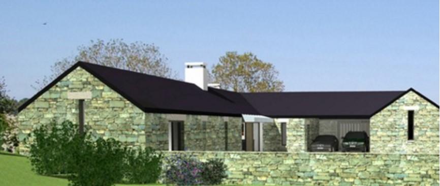 Revestimiento exterior para fachadas planos de casas for Revestimiento de piedra