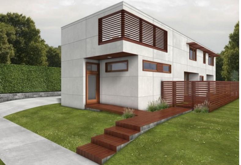 Plano de casa moderna planos de casas modernas for Las casas modernas