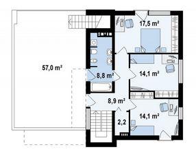 Diseño de casa minimalista de 2 plantas con cochera