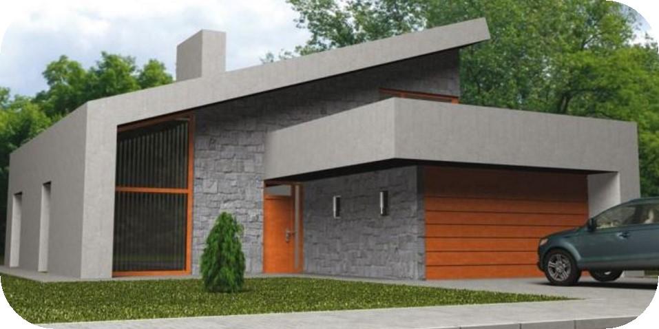Modelo de casa contemporanea
