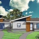 Plano de casas sencilla