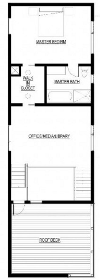plano de casa elegante