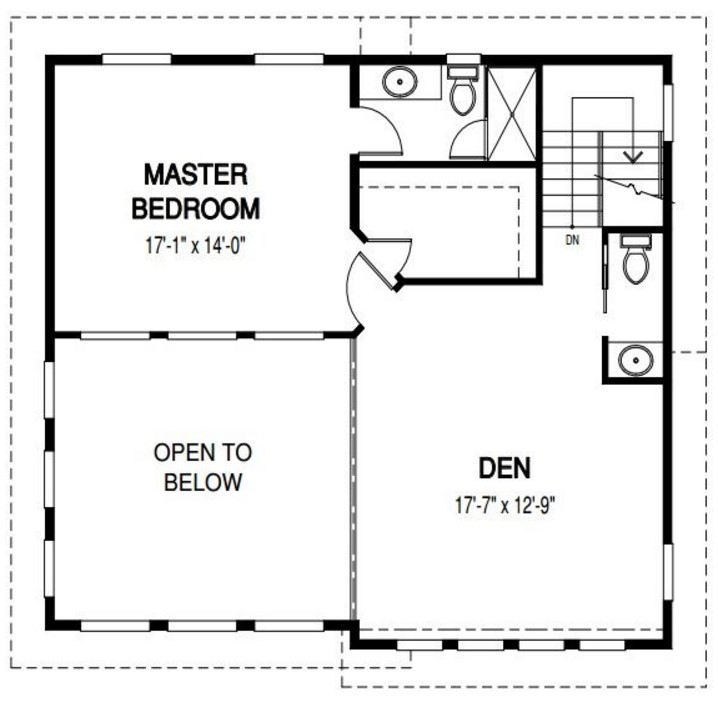 planos de casas modernas de 3 dormitorios