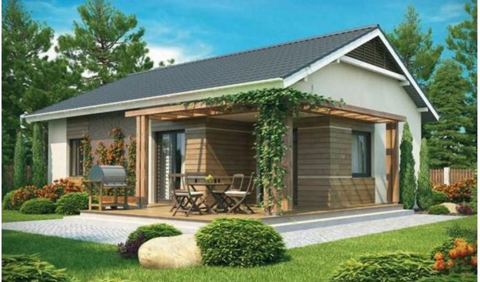 Plano de casa de 100 metros cuadrados planos de casas - Casas de 50 metros cuadrados ...