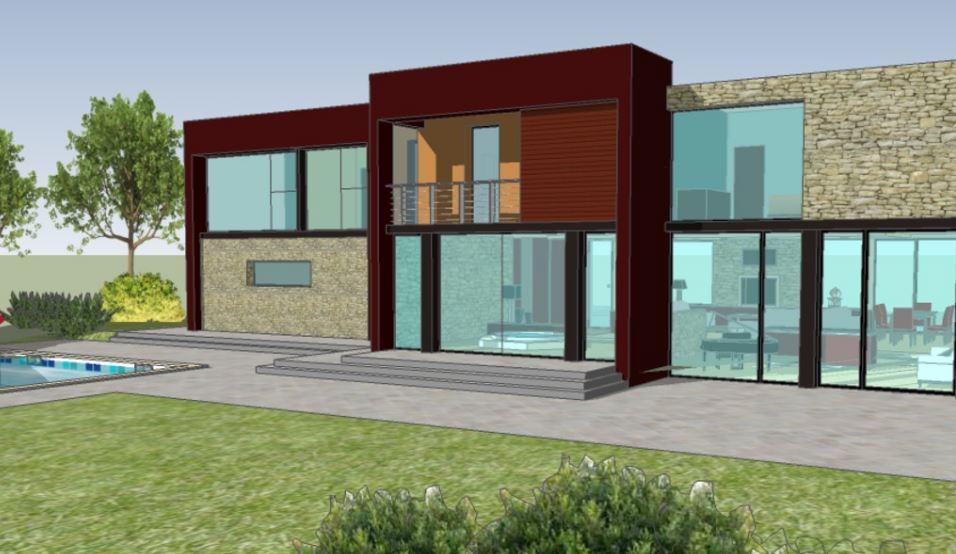 Modelos de casas de 2 plantas con 4 dormitorios for Planos de casas de 2 plantas
