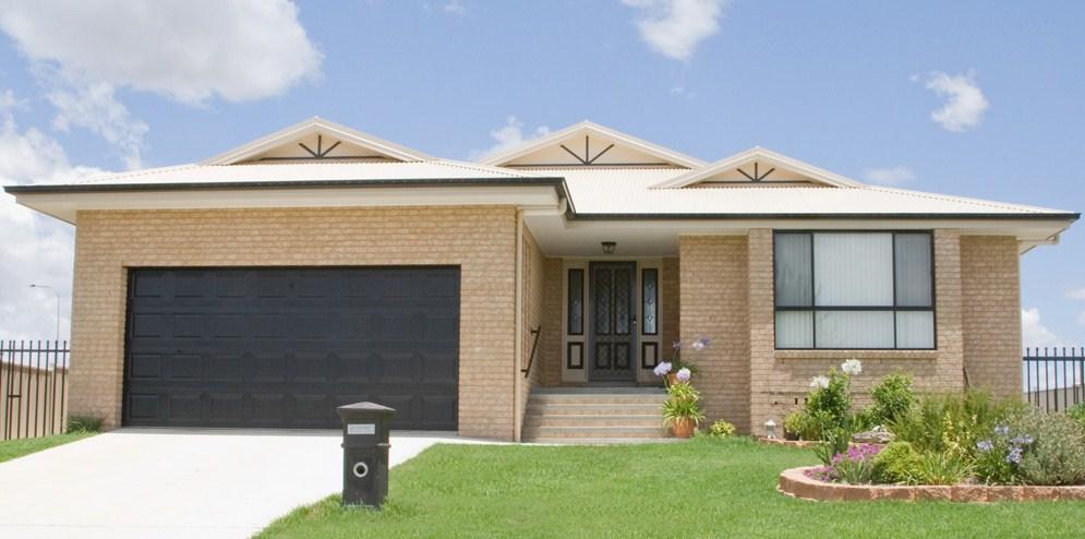 Dise o de casa moderna de 4 dormitorios - Fachadas de casas modernas planta baja ...