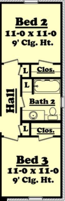 Medidas estandar de una casa habitación