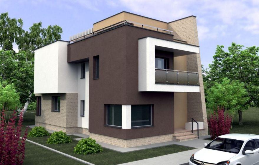 Modelos de casas de dos pisos planos de casas modernas for Fotos casas modernas