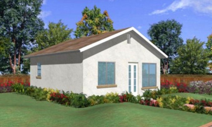 Plano de casa chica planos de casas modernas for Casa de 40 metros cuadrados