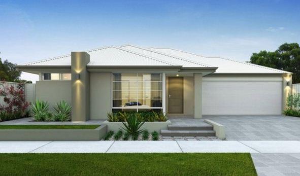 Plano de casa de 3 dormitorios planos de casas modernas - Planos de casas modernas de una planta ...