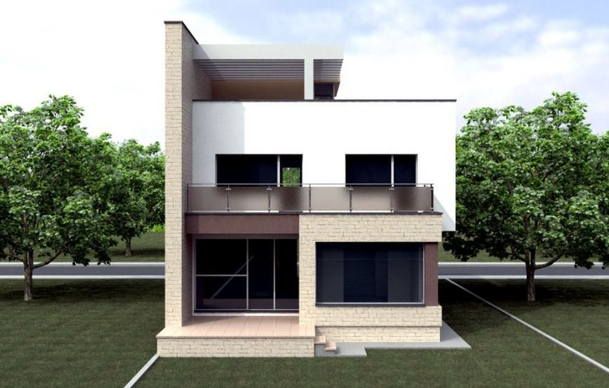 Planos de casas de dos pisos por dentro y por fuera