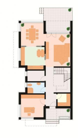 Planos de casas modernas de dos pisos por dentro y por fuera