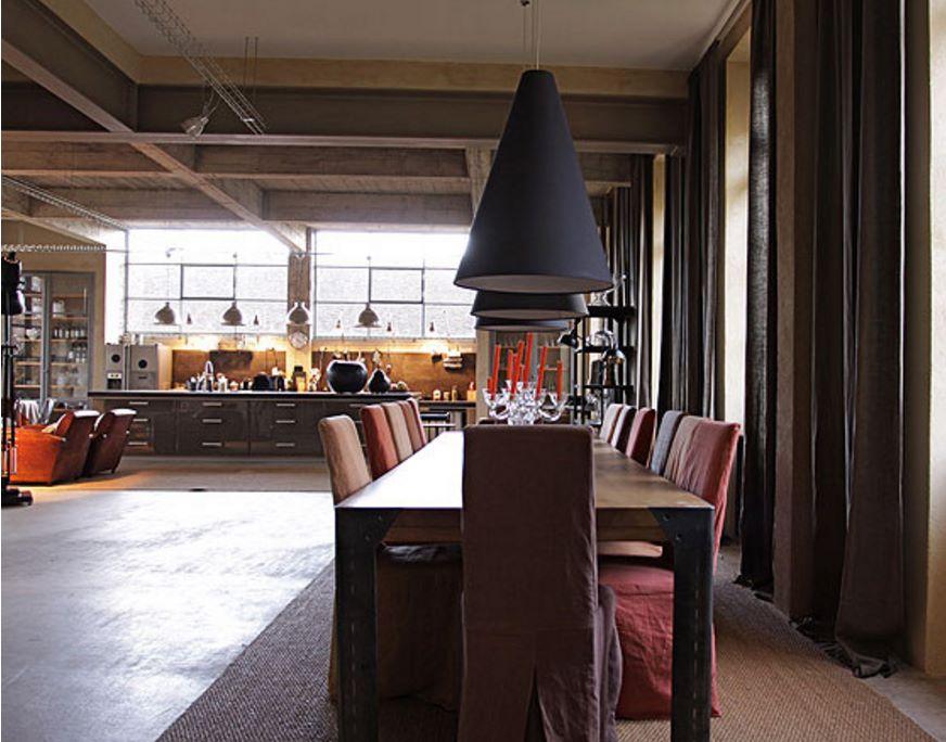 Casa rustica planos de casas modernas for Casas loft diseno