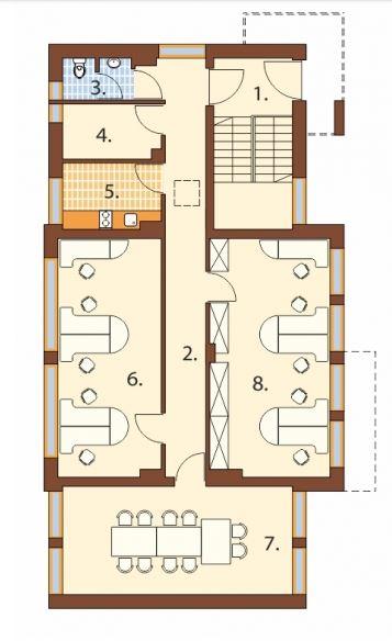 Planos de oficinas administrativas planos de casas modernas for Planos de oficinas administrativas