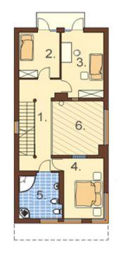 plano de casa angosta y alargada planos de casas modernas