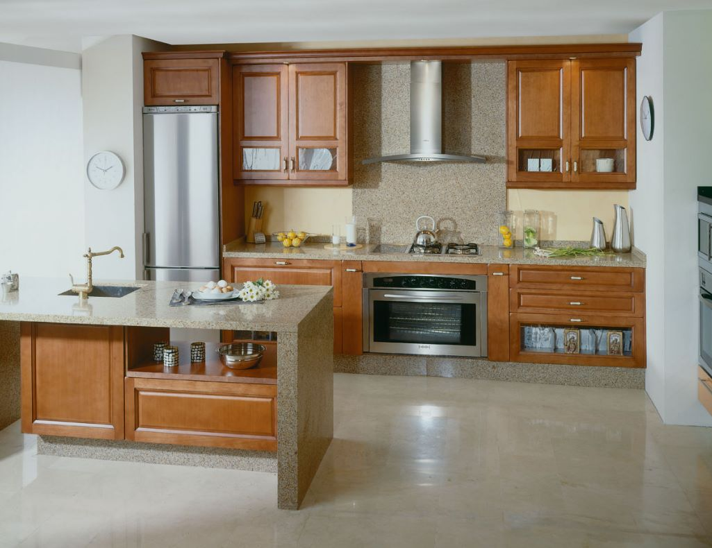 Muebles de cocina planos de casas modernas for Planos de cocinas 4x4