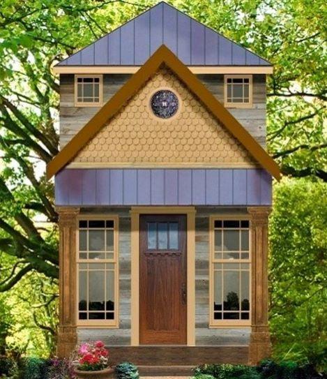 Como construir en 40 metros cuadrados for Fachadas de casas modernas de 6 metros