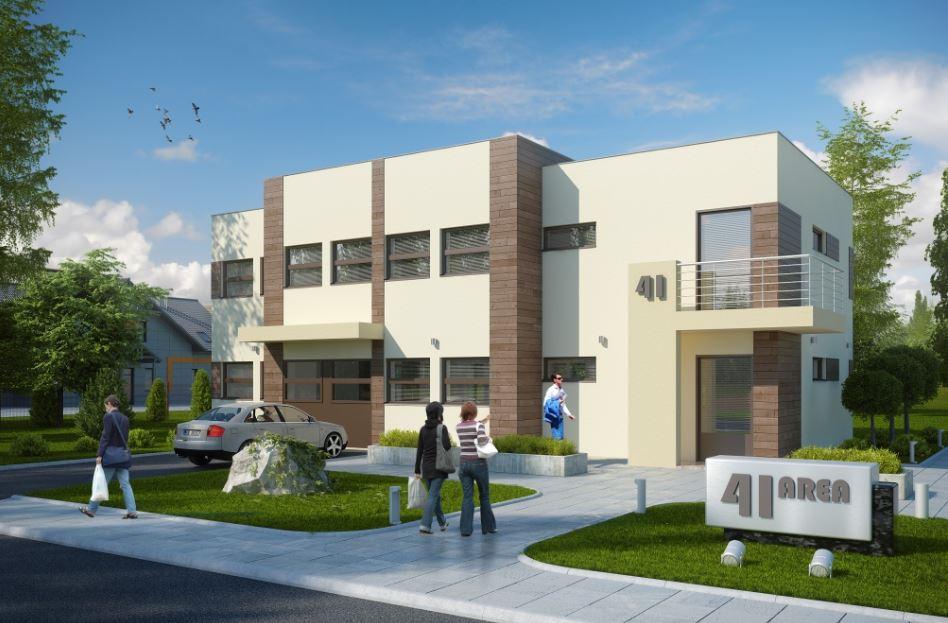 Plano de edificio de oficinas for Plantas de oficinas modernas