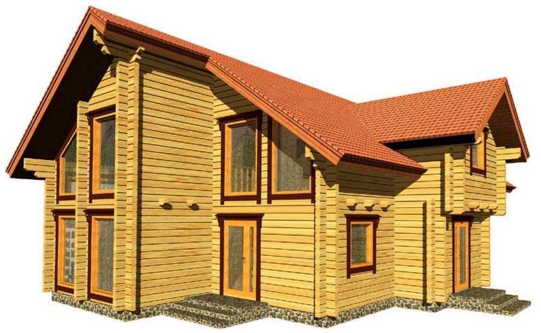 Caba a planos de casas modernas - Cabanas modernas ...