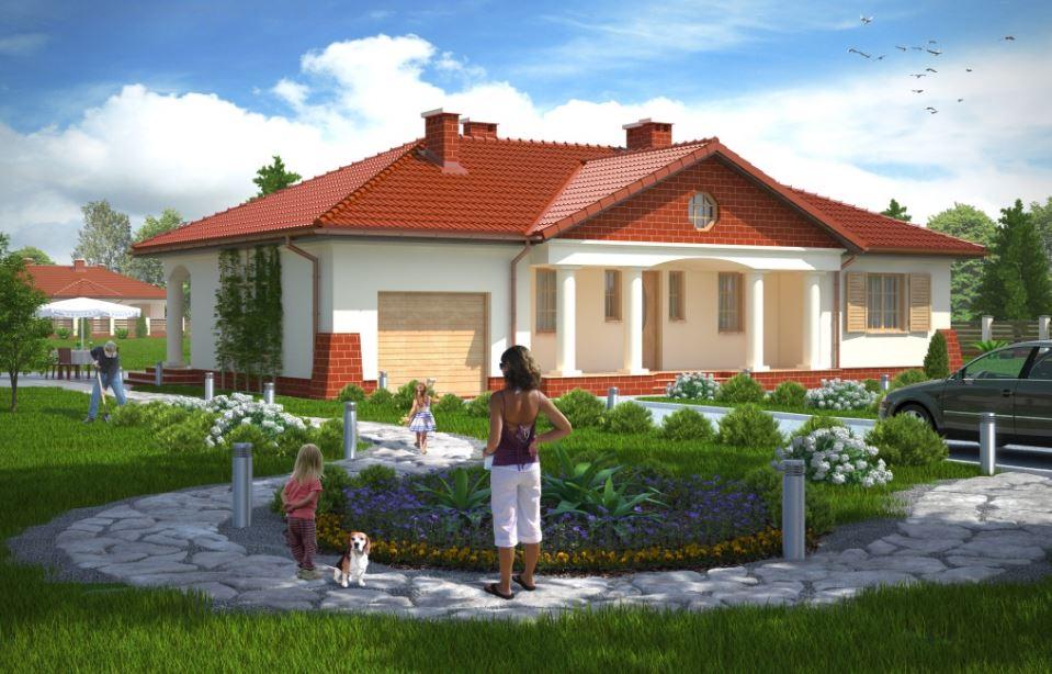 Plano De Casa A Lo Largo