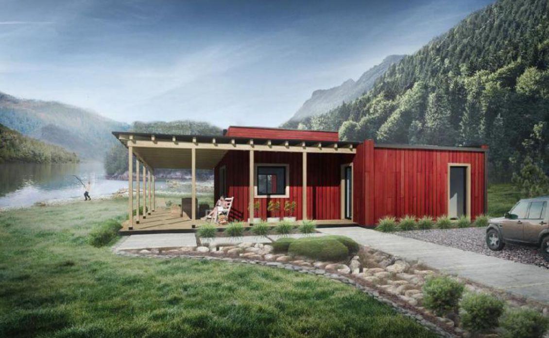 Plano de casa de 1 piso planos de casas modernas for Modelos de casas de madera de un piso