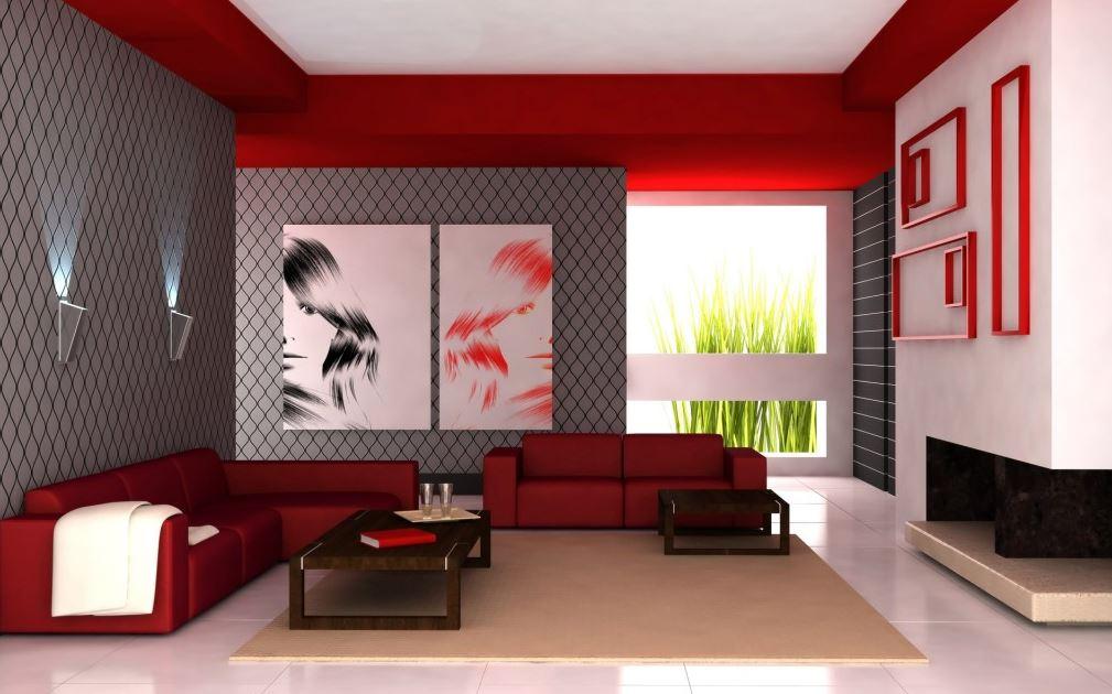 Decoracion de salas familiares minimalistas