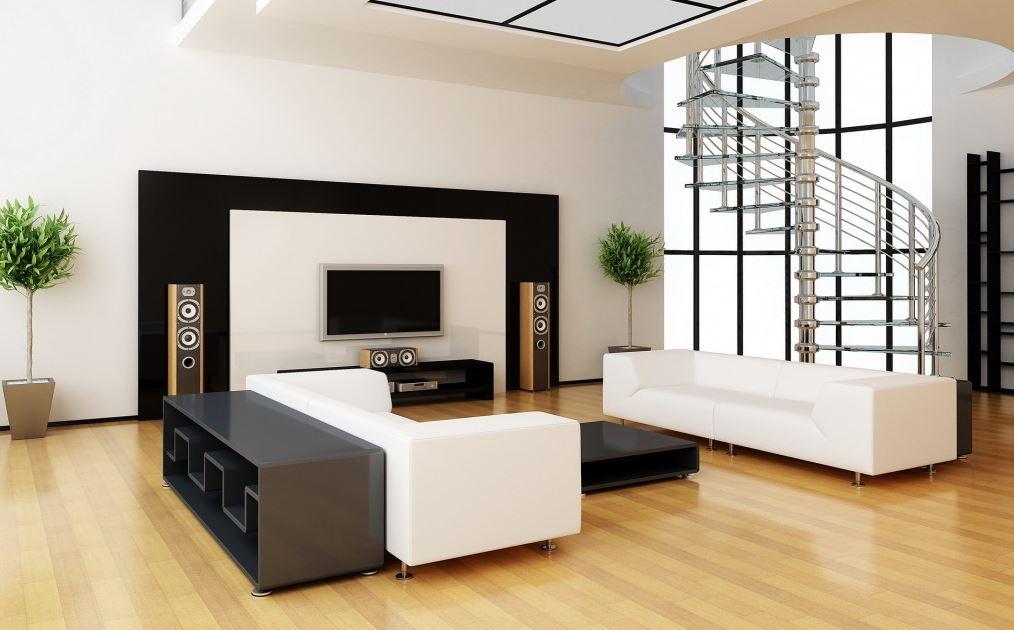 Decoracion de salones minimalistas amplios