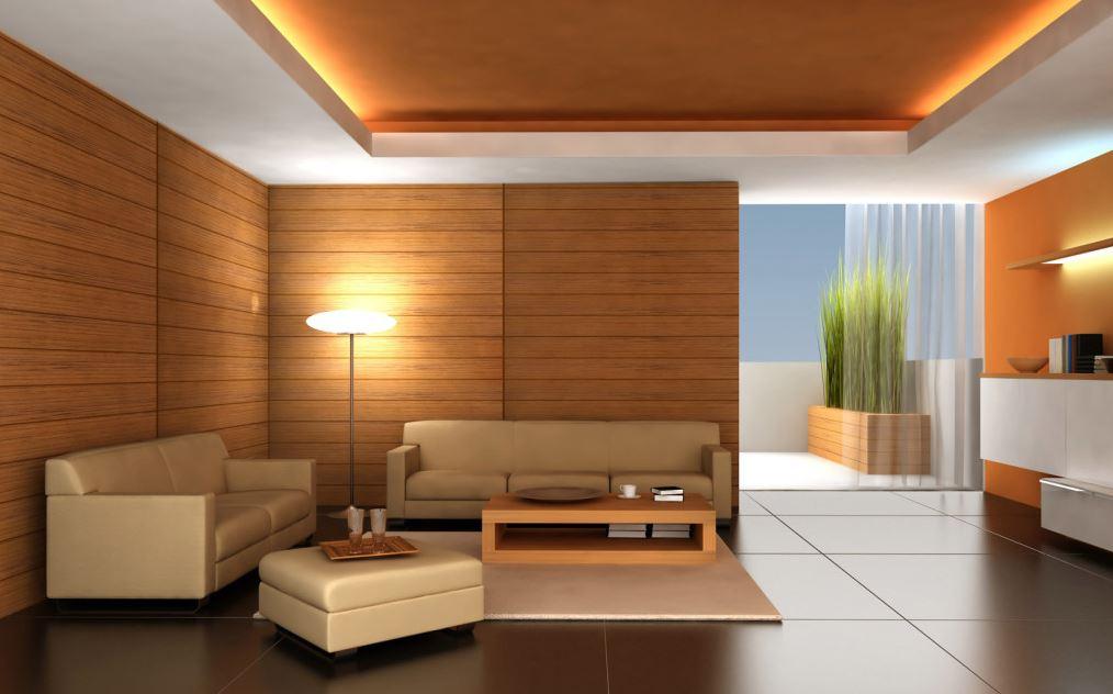 Decoracion de salones minimalistas con madera
