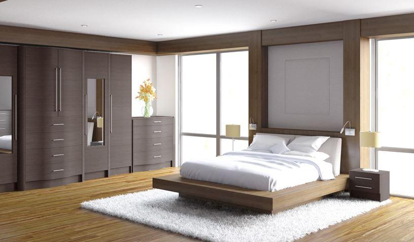 Diseño de cuartos matrimoniales modernos