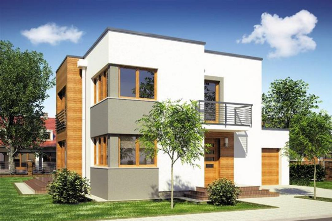 Balcones planos de casas modernas for Fachada de casas modernas con balcon