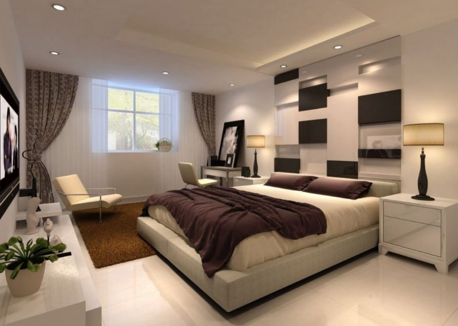 Decoracion planos de casas modernas for Matrimonial bedroom design
