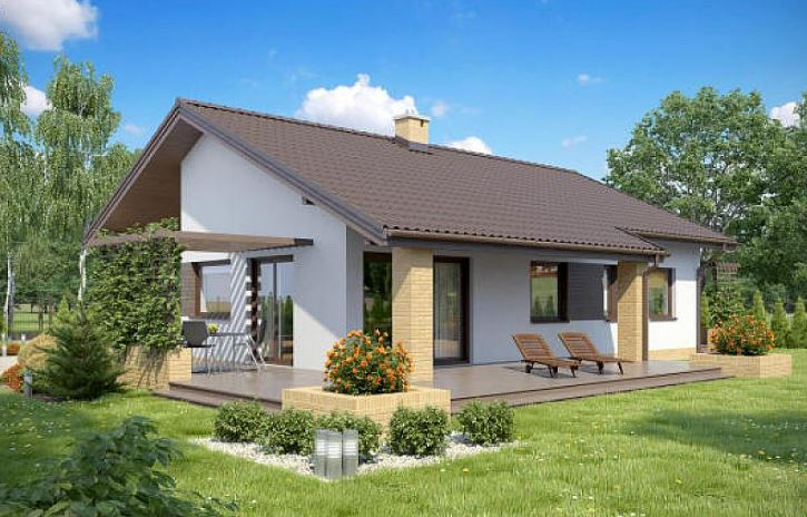 Modelos de casas de 3 dormitorios y 2 ba os for Modelos de casas de 3 dormitorios