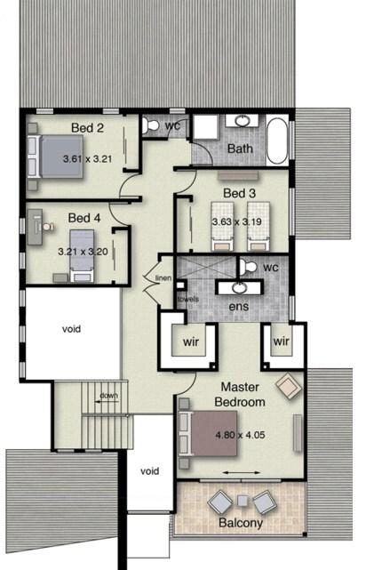 Modelos de casas de dos pisos para construir