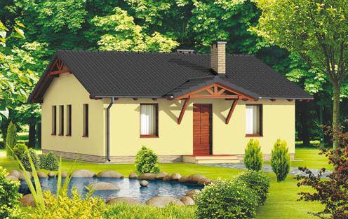 Plano de casa de 110 m2