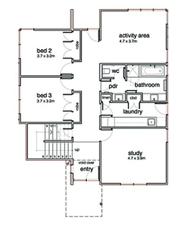 Planos de casas 10m x 20m