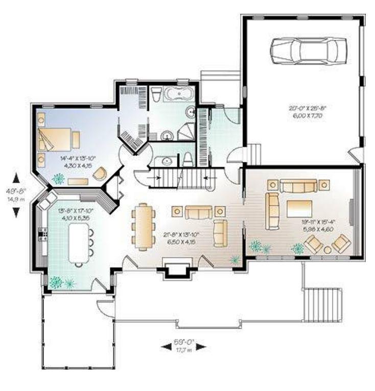 3 pisos planos de casas modernas for Planos de chalets