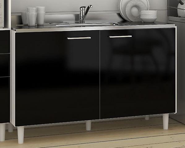 Muebles para espacios peque os cocina for Cocinas en espacios reducidos fotos