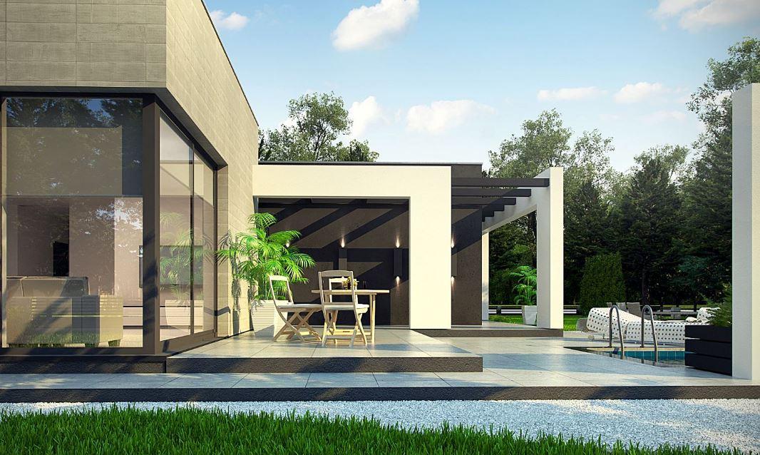 Planos de casas grandes y modernas planos de casas modernas for Modelos de casas de una sola planta