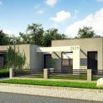 Diseños de casas modernas de una planta