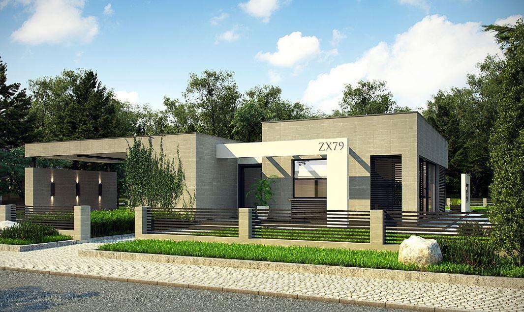 Dise os de casas modernas de una planta for Viviendas modernas de una planta