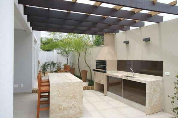 Parrilleros modernos for Parrillas para casas modernas
