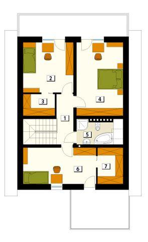 Plano De Casa De Dos Pisos Planos De Casas Modernas