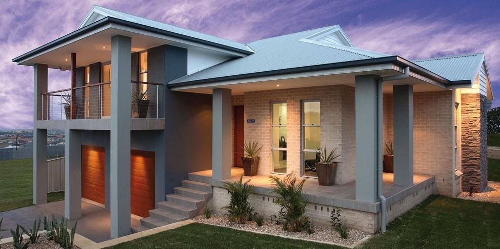 Planos de casa grandes modernas for Planos de casas de dos pisos modernas