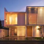 Modelos de casas interiores y exteriores