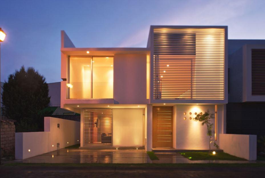 Plano de casa minimalista de 3 dormitorios planos de Planos interiores de casas modernas