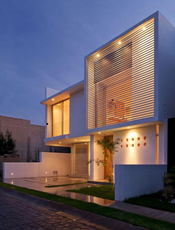 Modelos de casas de dos pisos por dentro y por fuera Pisos modernos para casas minimalistas