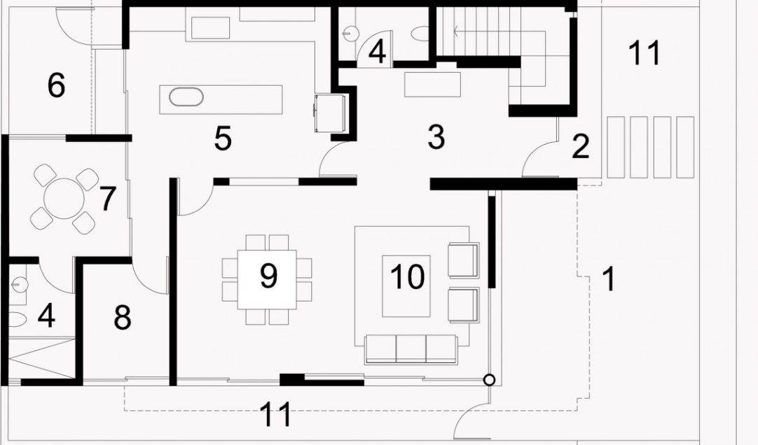 Casas minimalistas modernas planos de casas modernas Planos interiores de casas modernas