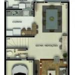 Planos de duplex 3 dormitorios